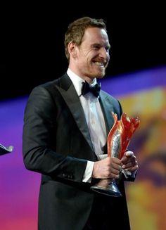 Michael Fassbender @ the 27th Annual Palm Springs International Film Festival Awards Gala - Awards Presentation