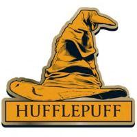 Harry Potter Hufflepuff Sorting Hat Badge image