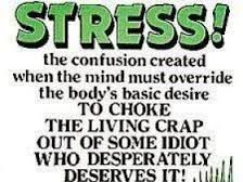funny quotes about stress