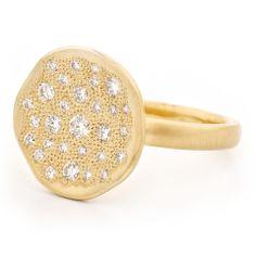 Diamond Stardust Ring