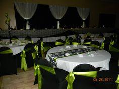 lime green weddings