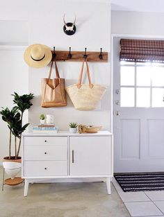 11 Shortcuts That Make Cleaning Your Home So Much Easier | The Everygirl Home Staging, Kitchen Shelves, Home Decor Accessories, Entryway Decor, Decoration, Building A House, Sweet Home, New Homes, Room Decor