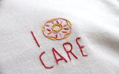 I donut care T-Shirt – NYLON SHOP