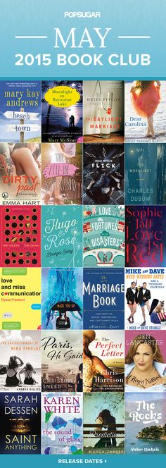 May is here, and Spring has fully sprung. Nothing is better than a sunny day outside with a book in hand, or a long list of good reads for your upcoming vacation. From magical and fantastical love stories to high school romances and novels with beautiful beach settings, we've got the 25 sweet and sexy books you need to get your hands on this month.