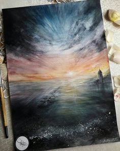 By @mari.yandreeva.art . Tag #inspiring_watercolors for a chance to be featured. #watercolors #watercolor #watercolorpainting #aquarelle #painting #watercolorartist #art #artist #inspiration #beauty #beautiful #sketch #illustration #artwork #watercolour #watercolorsketch #sea