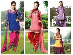 PUNJABI_SALWAR_SUITS LOOK PRETTY WITH #PUNJABI_SUITS  FLAT 20% OFF STARTS FROM RS.599 #30_Days_Return  #cod