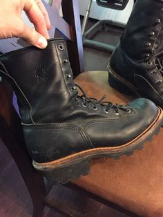 US $58.00 Pre-owned in Clothing, Shoes & Accessories, Men's Shoes, Boots