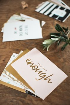 sinngestoeber - frauherter - gold designed postcards and posters - typography, quote, design, gold