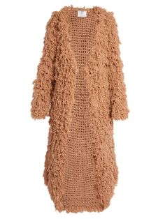 Open-front looped-cashmere cardigan   Ryan Roche