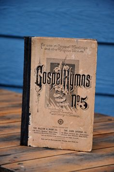 Book Gospel Hymns with Standard Selections No.5 by Ira D Sankey James McGranahan and George C Stebbins 1890 christian songs