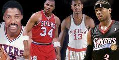 76er Legends!