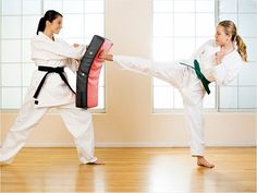 Women make wonderful martial artists because of their passion and intensity!  Come join us for a free class.  www.samuraikarate.net