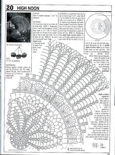 Decorative Crochet Magazines 60 - Gitte Andersen - Álbuns da web do Picasa There are many other chemas Crochet Doily Diagram, Crochet Doily Patterns, Crochet Chart, Thread Crochet, Filet Crochet, Crochet Motif, Crochet Stitches, Dreamcatcher Crochet, Magazine Crochet