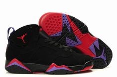 best sneakers 958cb 4671e Air Jordan Shoes 7 Black Red
