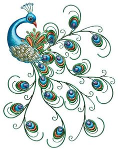 This is gorgeous - I'd love something similar with peacocks or in these colors that can go outside on our boring concrete walls that enclose the back yard. Regal Art & Gift Pretty Peacock Wall Decor Regal Art & Gift http://smile.amazon.com/dp/B00DQ1AY8S/ref=cm_sw_r_pi_dp_dmUqub0NSWS37