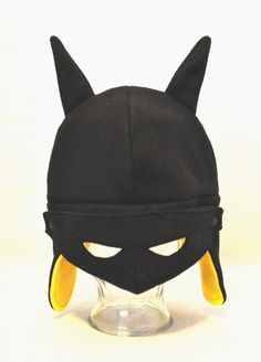 Batman Inspired Fleece Hat - Adult - Child - Toddler