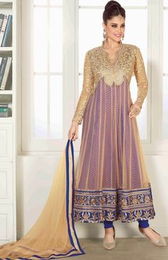 Indian Pakistani Ethnic Designer Anarkali Shalwar Kameez Suit Traditional Dress #LycheeFashions #anarkali