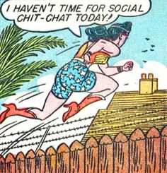 "superdames: "" No time for social chitchat! —Sensation Comics by William Moulton Marston & H. William Moulton Marston, Comic Art, Comic Books, Comic Book Panels, Kids Growing Up, Detective Comics, Panel Art, Justice League, Disney Characters"