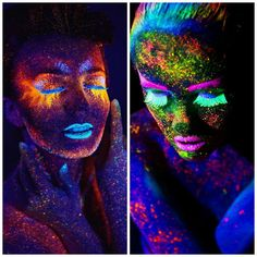 8 x 10ml uv bodypaint k rpermalfarben schwarzlicht fluoreszierende schminke bodypainting neon. Black Bedroom Furniture Sets. Home Design Ideas