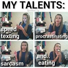 My four talents