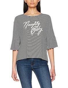 M Pointelle Nero Pepaloves Maglieria Black Jersey Donna Sweater Da Y5qv7T