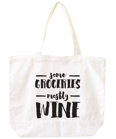 Give your family's comedienne this silly tote so she can carry her food (or bottles) home from the store.