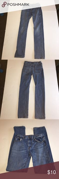 """Boys Jeans size 14 Pre owned boys Aeropostale jeans in excellent condition. Measurements are inseam 26"""", total length (top of pants to bottom of leg 36.5"""".  Clean and fresh out the wash. Smoke and pet free house Aeropostale Bottoms Jeans"""