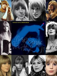 Marianne Faithfull (born Dec. 29, 1946) is a British singer, songwriter & actress whose career has spanned five decades. From 1966 to 1970 she had a highly publicized romantic relationship with Mick Jagger. Her early work in pop & rock music in the 1960s was overshadowed by her struggle with drug abuse in the 1970s. After a long commercial absence, she returned late in 1979 with the highly acclaimed album, Broken English. She ranked 25th on VH1's 100 Greatest Women of Rock & Roll.