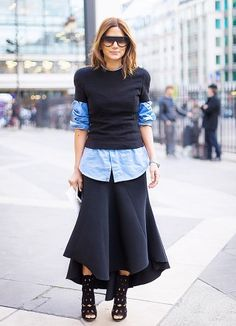 @Alexandra M What Wear - 13 Style Tricks That Will Instantly Update Your Basic Button Up