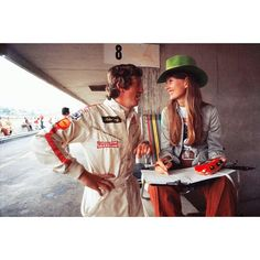 "397 Likes, 8 Comments - F1. It's an obsession. (@jonathan_p1) on Instagram: ""Jochen and Nina Rindt - Lotus - British Grand Prix - 1970."""