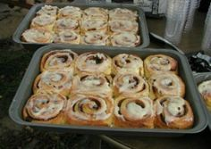 Sourdough Cinnamon Rolls are another delicious recipe for use with a sourdough starter. These wonderful cinnamon rolls are easy to make in a bread machine.