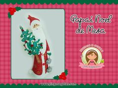 DIY Papai Noel de Mesa
