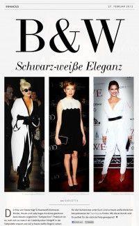 B – Schwarz-weiße Eleganz | Infamous Magazine
