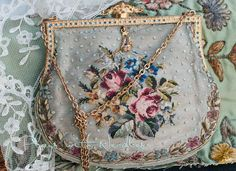 So beautiful...antique purse