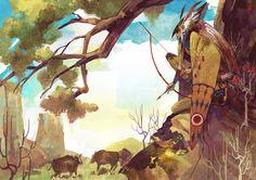 Hunting by gtako.deviantart.com on @deviantART