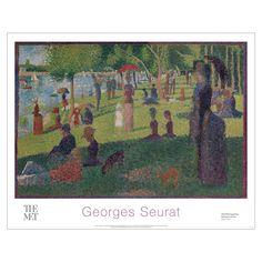 Georges Seurat: La Grande Jatte Poster