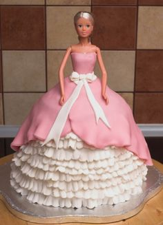 tort barbie - ewa