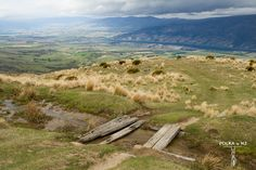 Cardrona - Cromwell Track, Central Otago, South Island, New Zealand