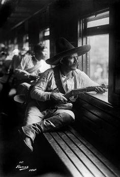 The Mexican Revolution, 1914 by photographer Agustín Victor Casasola.