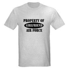 Air Force Girlfriend Shirt #cafepress #airforcegirlfriend