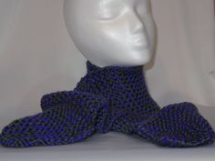 My Little Pony Spike the Dragon Inspired Knitted Scarf by savvykrafter on Etsy