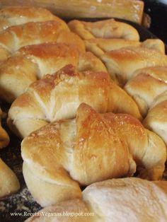 Croissant vegano - Recetas Veganas
