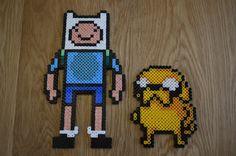 Finn and Jake Hama Beads by sophiemai on deviantart