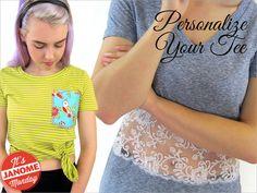 Janome Monday: Embellished T-Shirts | Sew4Home