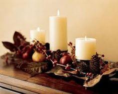 a simple thanksgiving decor