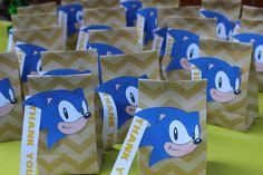 Sonic the Hedgehog Birthday Bash | CatchMyParty.com