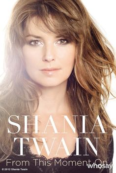 "Shania Twain's, photo,""Hey fans! Check out the official book cover for my upco…"""