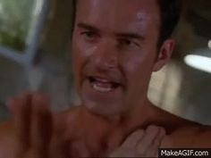Charmed - Phoebe (Alyssa Milano) and Cole (Julian McMahon) training session