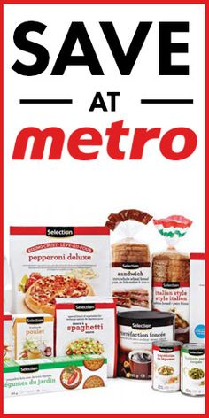 #Save with #Coupons from #Metro