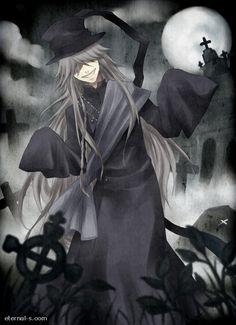 Kuroshitsuji Undertaker by Eternal-S